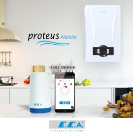 E.C.A. Kombi Kiti Kablosuz (Wifi)Akıllı Termostat